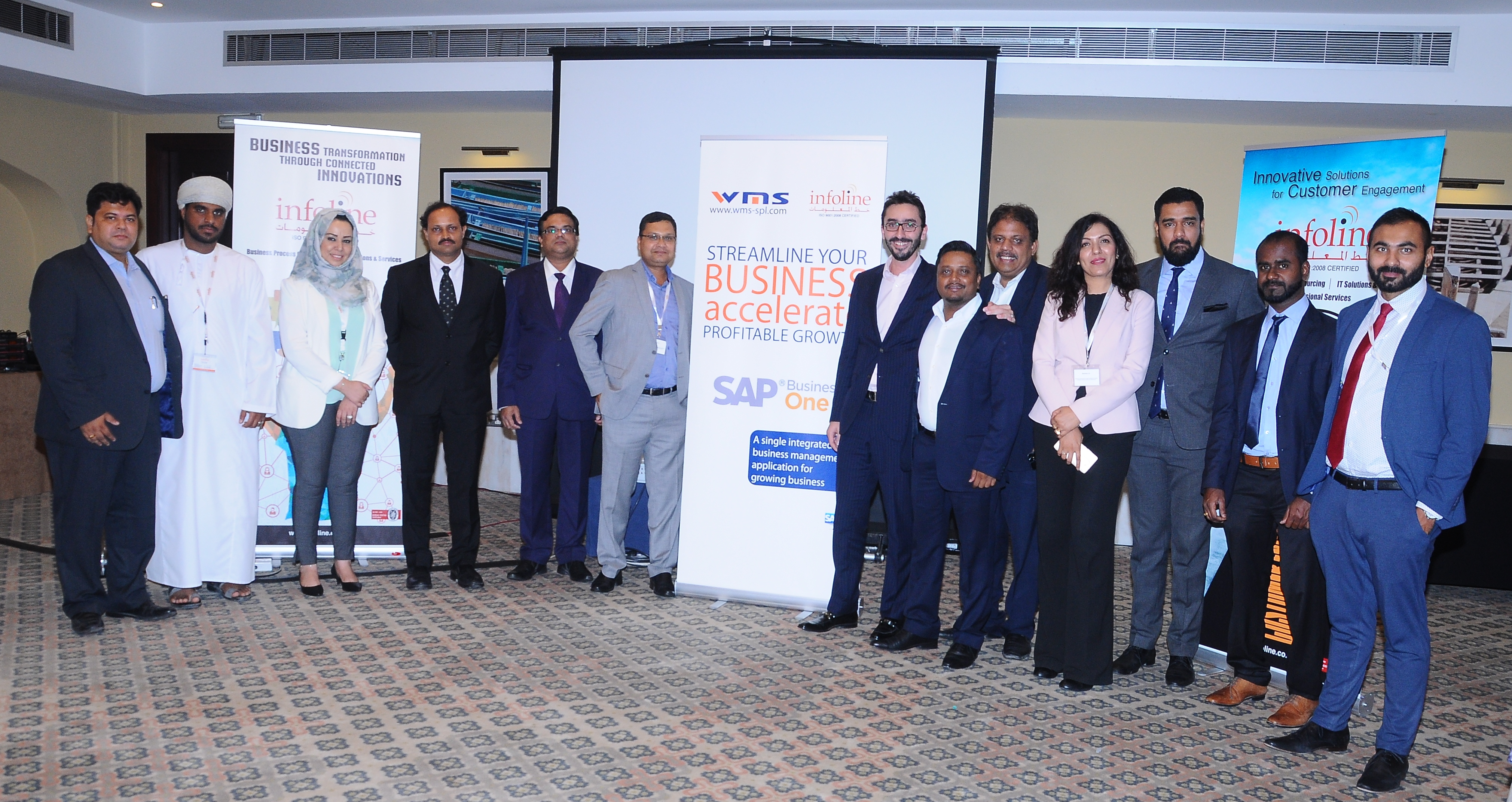 Infoline brings SAP Business One solution in Oman