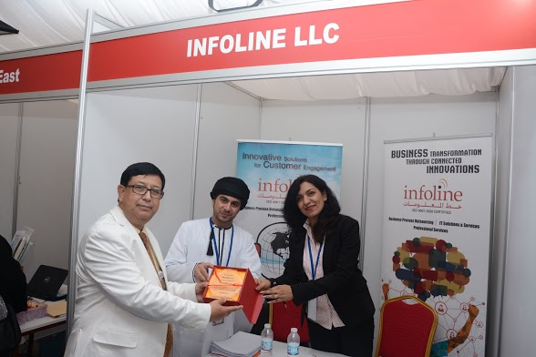 As a part of CSR activity Infoline participates in various Career fairs